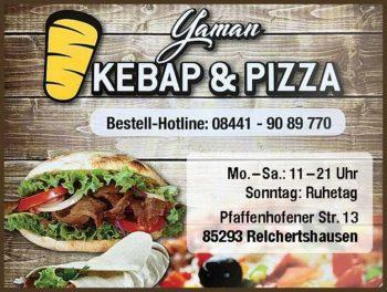 Anzeige Yaman Kebap & Pizza